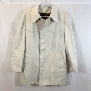 VTG London Fog Trench Over Car Top Coat Jacket